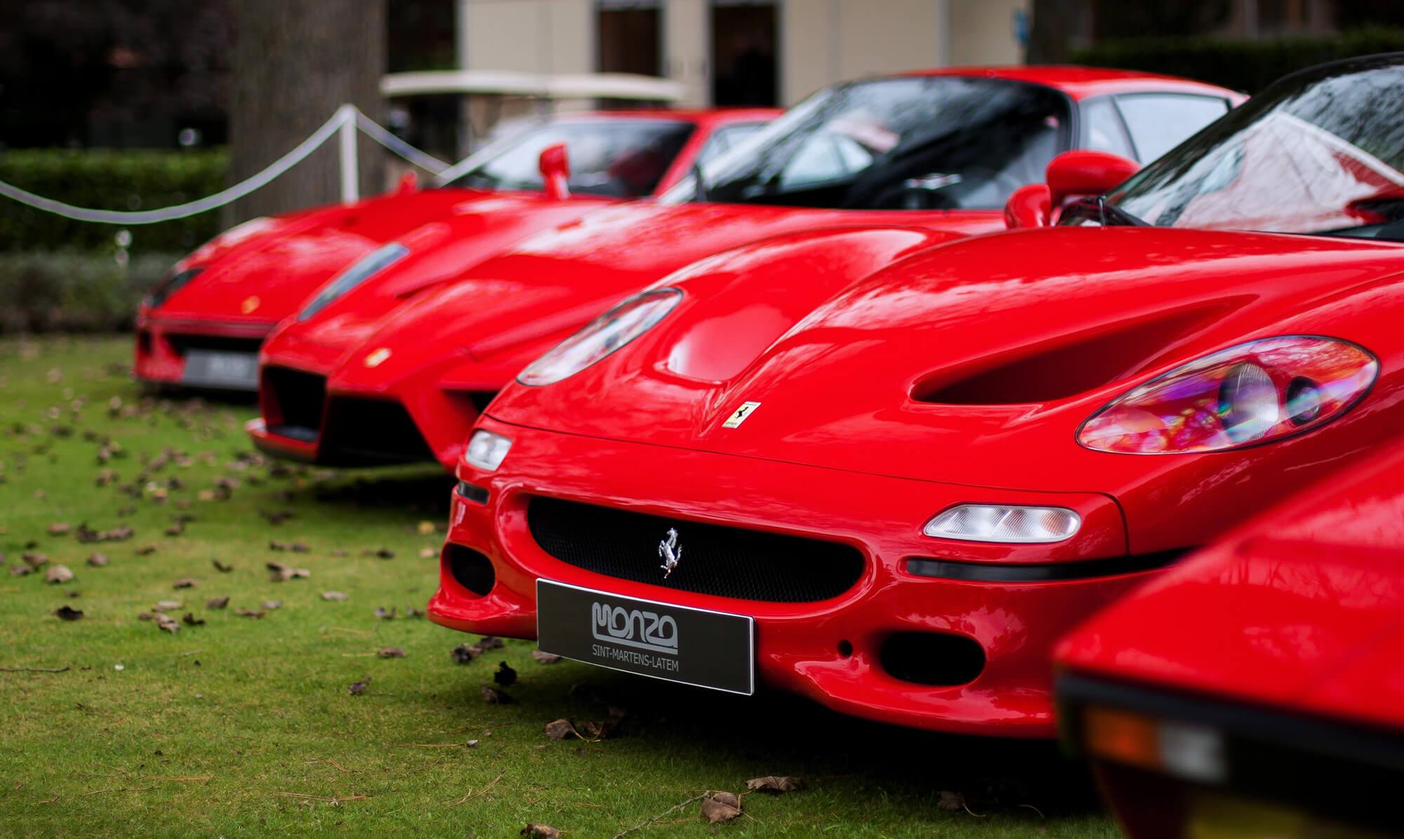 Alquiler de Ferrari para eventos
