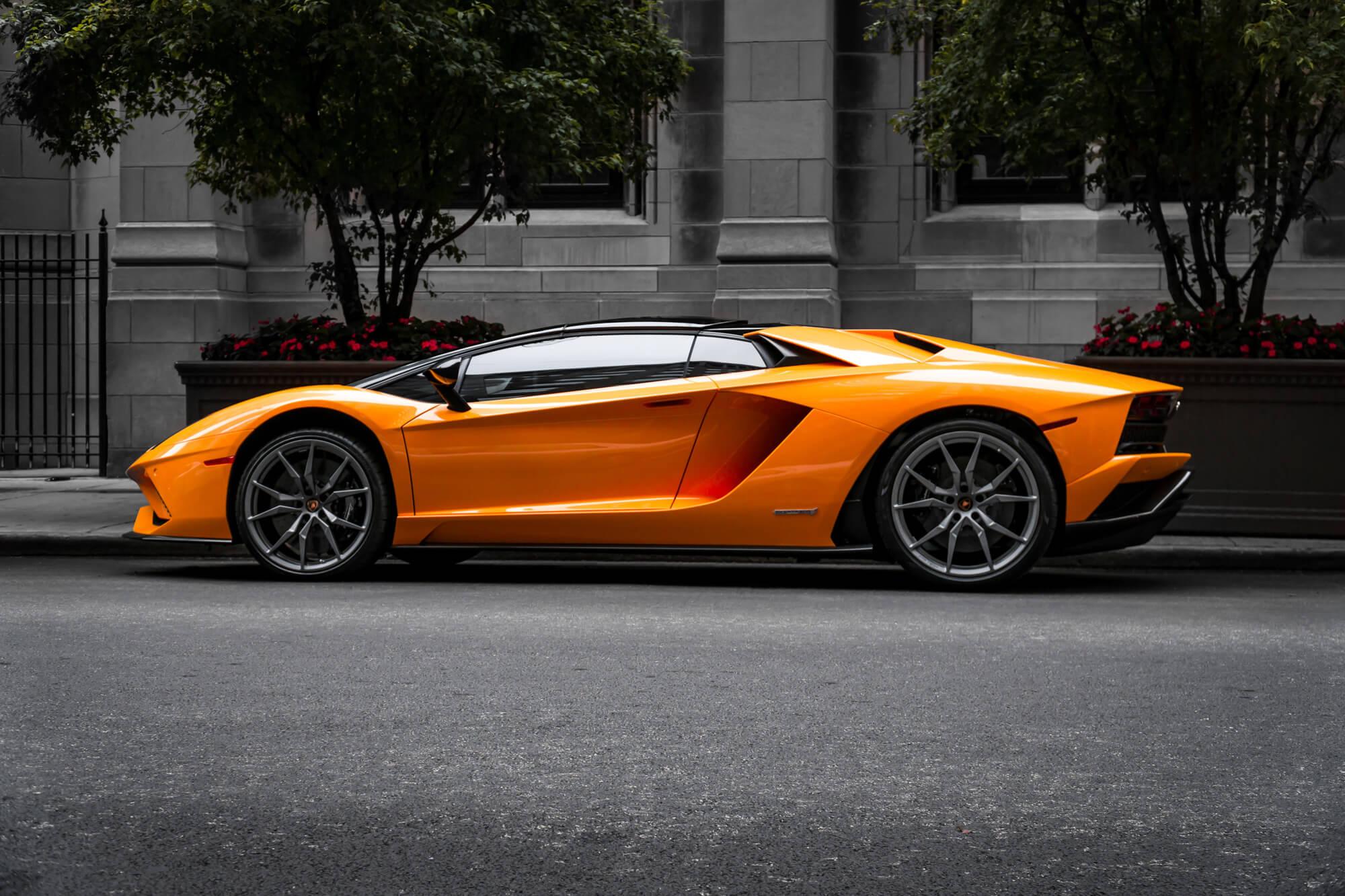 Alquilar Lamborghini para eventos