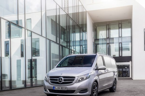 Die neue V-Klasse, Fahrvorstellung Sylt 2014, Edition 1, V 250 BlueTEC, Exterieur, brillantsilber metallic ;